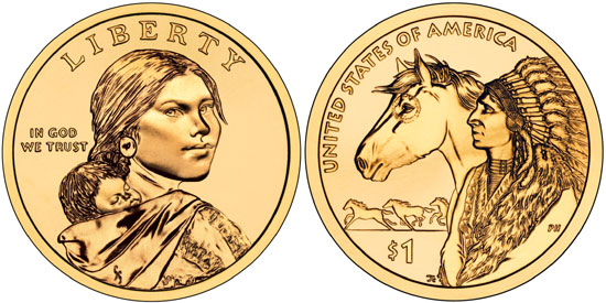 2012 Native American Dollar