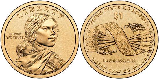 2010 Native American Dollar